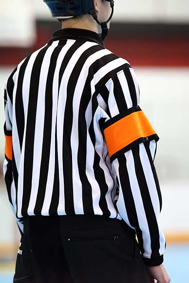 Referees benefit from flatter radius rockers